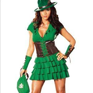 Sexy Robin Hood Halloween Costume (M)